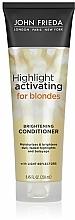 Kup Nawilżająca odżywka do jasnych włosów blond - John Frieda Sheer Blonde Highlight Activating