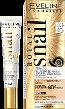 Kup Skoncentrowany krem rozświetlający pod oczy na powieki 30+/40+ - Eveline Cosmetics Royal Snail