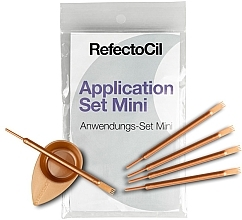 Kup Zestaw do koloryzacji brwi i rzęs - RefectoCil Application Set Mini Rose Gold