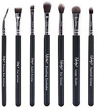 Kup Zestaw pędzli do makijażu - Nanshy Eye Brush Set Onyx Black (brush x 7)