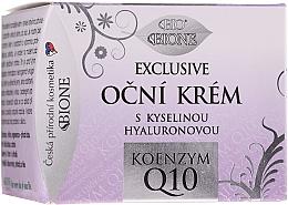 Kup Ekskluzywny krem pod oczy z koenzymem Q10 - Bione Cosmetics Exclusive Organic Eye Cream With Q10