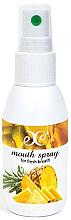 Kup Spray odświeżający oddech Ananas - Hristina Cosmetics Pineapple Mouth Spray
