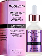 Kup Przeciwutleniające serum do twarzy - Makeup Revolution Superfruit Extract Antioxidant Rich Serum & Primer