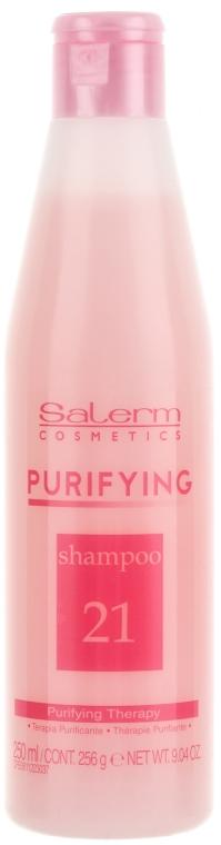 Szampon oczyszczający - Salerm Linea SPA Purificante Shampoo — фото N1