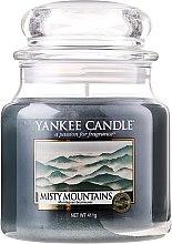 Świeca zapachowa w słoiku - Yankee Candle Misty Mountains — фото N3