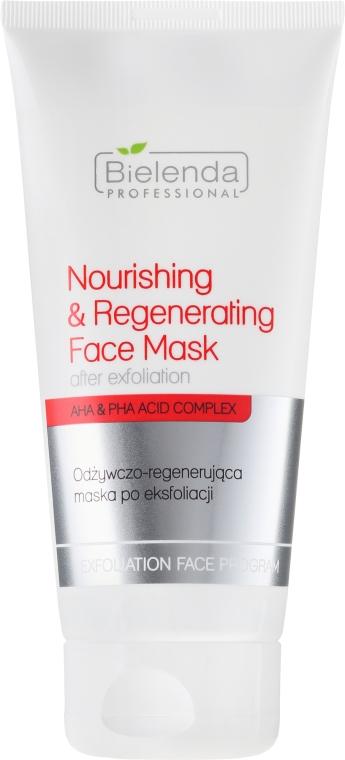 Odżywczo-regenerująca maska po eksfoliacji - Bielenda Professional Exfoliation Face Program