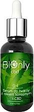 Kup Rewitalizujące serum do twarzy z olejem konopnym i CBD - BIOnly