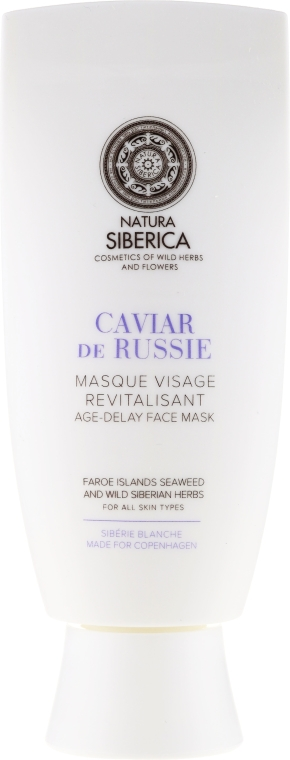 Odmładzająca maska do twarzy Przedłużenie młodości Biała Syberia - Natura Siberica Sibérie Blanche Caviar de Russie — фото N2