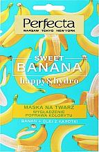 Kup Intensywnie wygładzająca maska do twarzy - Perfecta Sweet Banana Happy & Hydro Mask