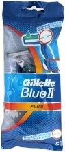 Kup Jednorazowe maszynki do golenia, 5 szt. - Gillette Blue II Plus
