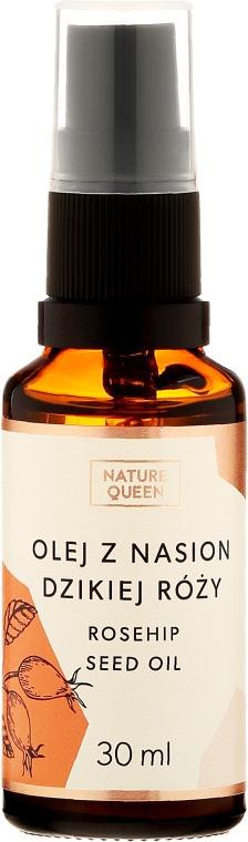 Olej z nasion dzikiej róży - Nature Queen Rosehip Seed Oil
