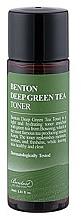 Kup Tonik do twarzy - Benton Deep Green Tea Toner (mini)