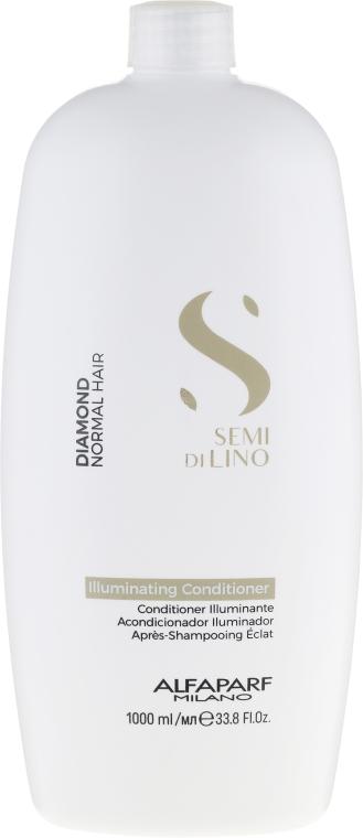 Odżywka do włosów normalnych - Alfaparf Semi di Lino Diamond Illuminating Conditioner — фото N1