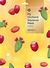 Kup Witalizująca maska na tkaninie do twarzy z kaktusem - Fruida My Orchard Squeeze Mask Cactus