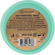 Tonujący puder w kulkach - Dermacol Beauty Powder Pearls Toning — фото N3