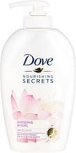 Kup Mydło w płynie do rąk z ekstraktem z kwasu lotosu z wodą ryżową - Dove Nourishing Secrets Glowing Ritual Hand Wash