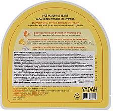 Rewitalizująca żelowa maska w płachcie do twarzy - Yadah Brightening Jelly Pack Face Mask — фото N2