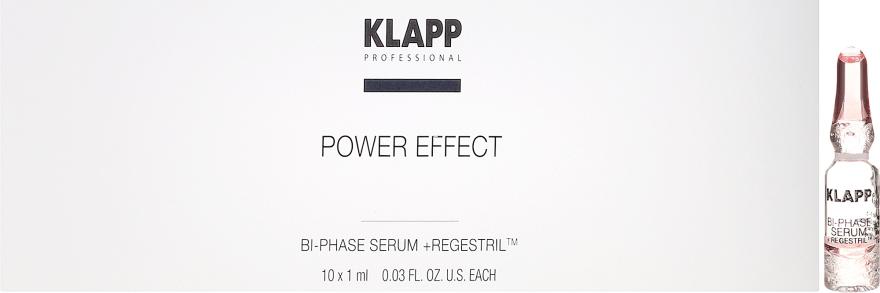 Dwufazowe serum do twarzy - Klapp Bi-Phase Serum Regestril — фото N1
