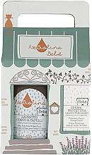Kup Zestaw - NeBiolina Baby Gift Box (body/hair/fluid/500ml+nappy/cr/100ml)