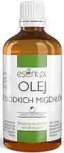 Kup Nierafinowany olej ze słodkich migdałów 100% - Esent
