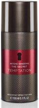 Kup Antonio Banderas The Secret Temptation - Perfumowany dezodorant w sprayu
