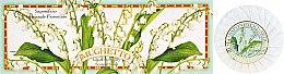 Kup Zestaw naturalnych mydeł w kostce Konwalia - Saponificio Artigianale Fiorentino Lily of The Valley Soap (3 x soap 100 g)