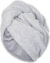 Kup Szary ręcznik-turban do włosów (68 x 26 cm) - Makeup