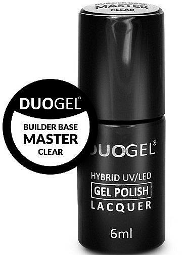 Baza pod lakier hybrydowy do paznokci - Duogel Builder Base Master Clear — фото N1