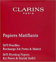 Kup Bibułki matujące - Clarins Kit Pores & Matite (wymienny wkład)