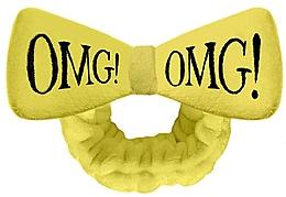 Kup Opaska kosmetyczna do włosów, żółta - Double Dare OMG! Yellow Hair Band