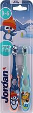 Kup Szczoteczka do zębów dla dzieci 3-5 lat, granatowa + niebieska - Jordan Step By Step Soft Clean