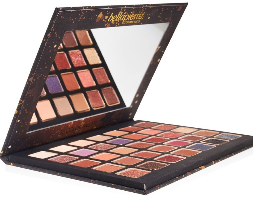 Paleta cieni do powiek - Bellapierre Ultimate Nude Eyeshadow Palette — фото N3