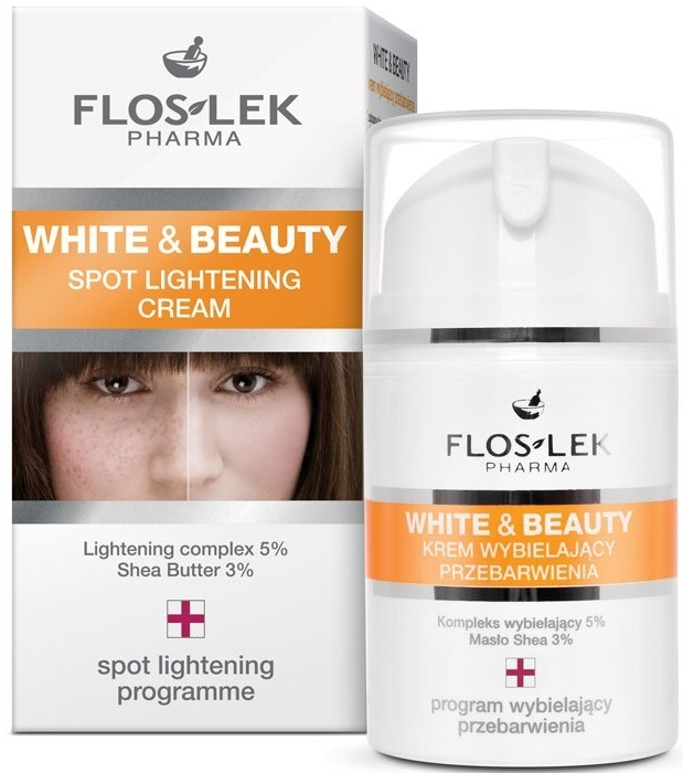 Krem wybielający przebarwienia - Floslek White & Beauty Spot Lightening Cream