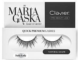 Kup Sztuczne rzęsy - Clavier Quick Premium Lashes Daily Lady 813