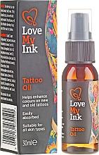 Kup Olejek do pielęgnacji tatuażu - Love My Ink Tattoo Oil