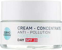 Kup Nawilżający krem-koncentrat do twarzy na dzień SPF 20 - Vollare Multi-Active Detox C+E Cream-Concentrate