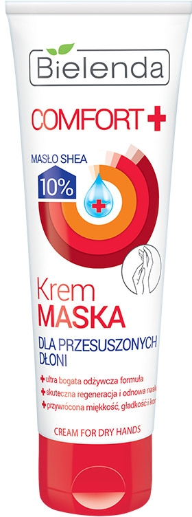 Krem-maska do przesuszonych dłoni - Bielenda Comfort+