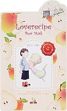 Kup Odżywczo-nawilżająca celulozowa maska w płachcie do twarzy z wyciągiem z gruszki - Sally's Box Loverecipe Pear Mask