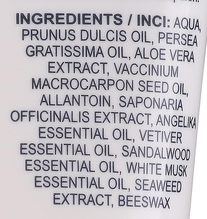 Żel pod prysznic 2 w 1 do włosów i ciała - Hrisnina Cosmetics Sezmar Collection Love Varro Aphrodisiac Hair & Body Shower Gel — фото N3