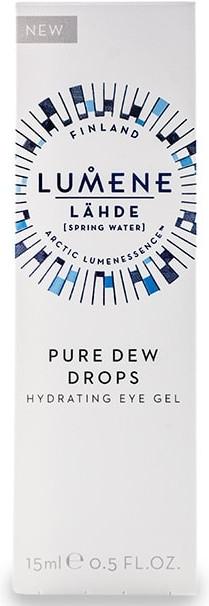 Nawilżający żel pod oczy - Lumene Lahde [Spring Water] Pure Dew Drops Hydrating Eye Gel — фото N2