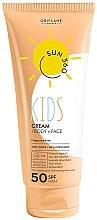 Kup Ochronny krem do opalania do twarzy i ciała dla dzieci SPF 50 - Oriflame Sun 360 Kids Cream