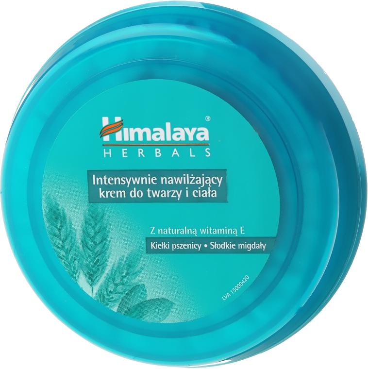 Intensywnie nawilżający krem z naturalną witaminą E - Himalaya Herbals Intensive Moisturizing Cream