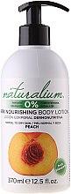 Kup Odżywcze mleczko do ciała Brzoskwinia - Naturalium Body Lotion Peach