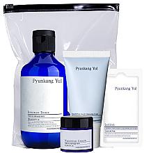 Kup Zestaw - Pyunkang Yul Skin Set (f/cr 9 ml + toner 100 ml + foam 40 ml + f/lot 7 ml)