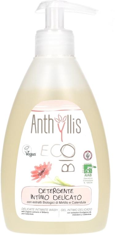 Delikatny płyn do higieny intymnej z ekstraktem z borówki i nagietka - Anthyllis