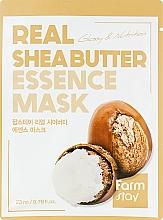 Kup Maska do twarzy na tkaninie - FarmStay Real Shea Butter Essence Mask