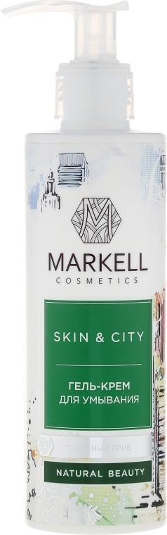 Żel-krem do mycia twarzy Trzęsak morszczynowaty - Markell Cosmetics Skin&City
