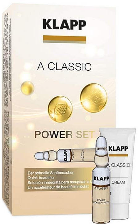 Zestaw Witamina A - Klapp A Classic Power Set (conc/3x2ml + cr/3ml) — фото N1