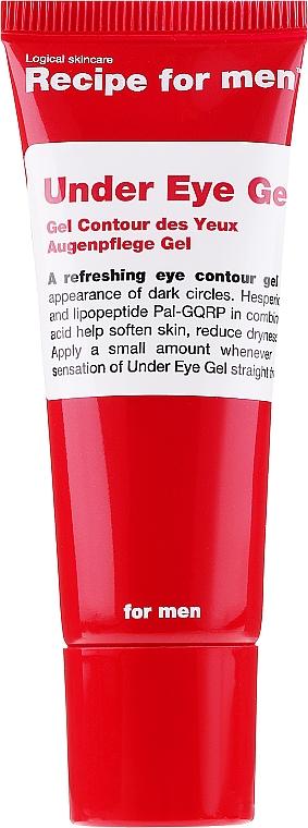 Żel pod oczy dla mężczyzn - Recipe For Men Under Eye Gel — фото N1