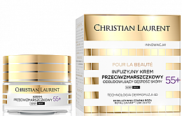 Kup Infuzyjny krem przeciwzmarszczkowy odbudowujący gęstość skóry 55+ - Christian Laurent Pour La Beauté